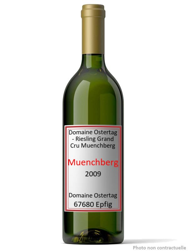 Domaine Ostertag - Riesling Grand Cru Muenchberg 2009