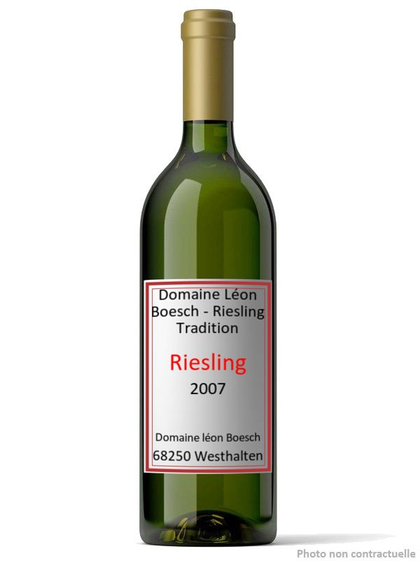 Domaine Léon Boesch - Riesling Tradition 2007