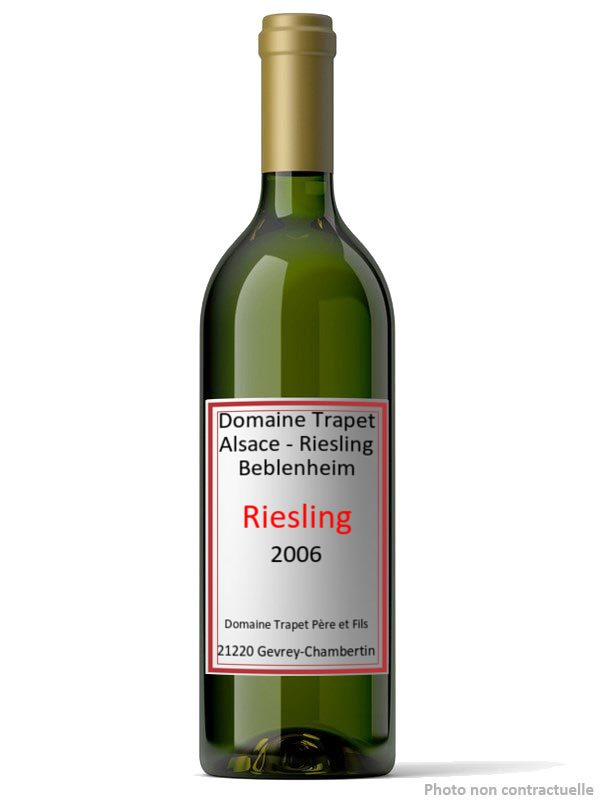 Domaine Trapet Alsace - Riesling Beblenheim 2006