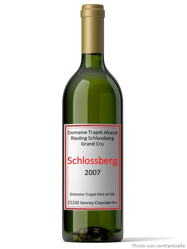 Domaine Trapet Alsace Riesling Schlossberg Grand Cru 2007