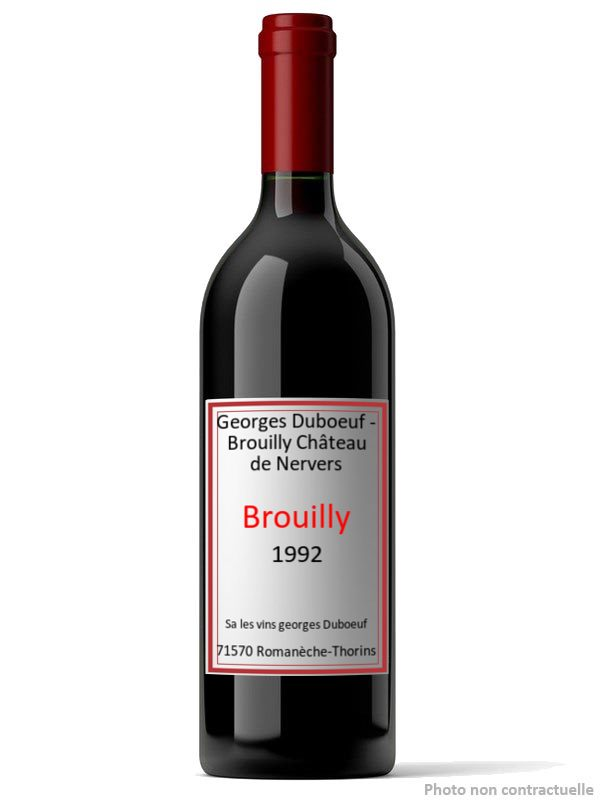 Georges Duboeuf - Brouilly Château de Nervers 1992