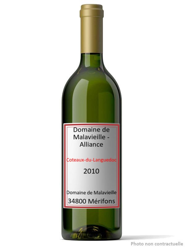 Domaine de Malavieille - Alliance 2010