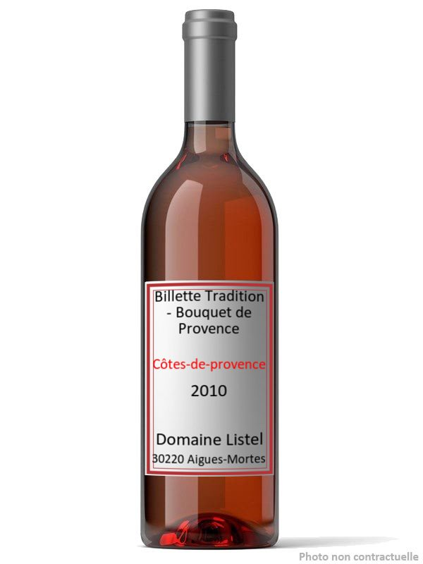 Billette Tradition - Bouquet de Provence 2010